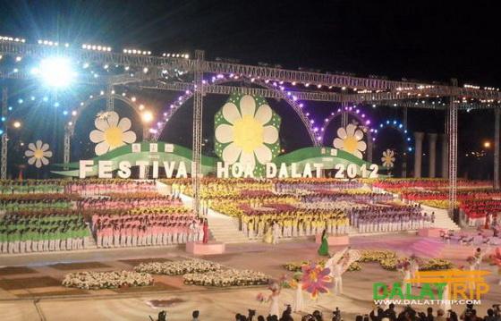 Festival des fleurs de Dalat de l'exercice précédent