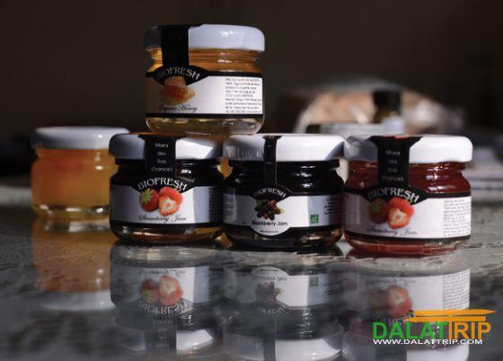 Dalat confiture de fraise