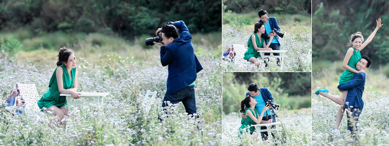 OUTDOOR PRE-WEDDING PHOTOGRAPHY PACKAGE