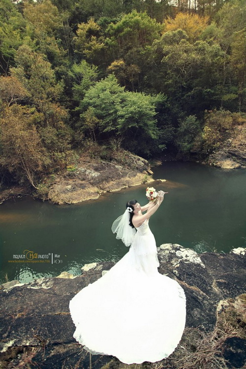 Outdoor Pre-wedding Dalat Vietnam 11