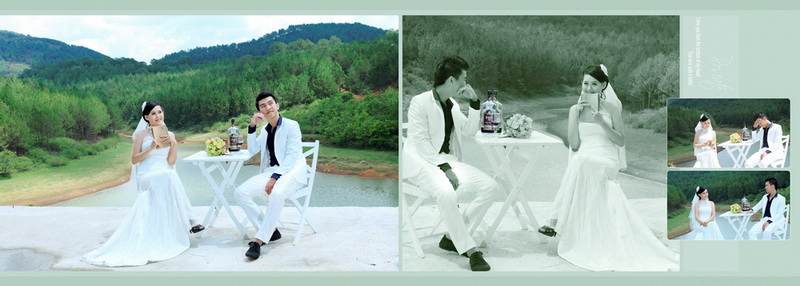 Outdoor Pre-wedding Dalat Vietnam 2