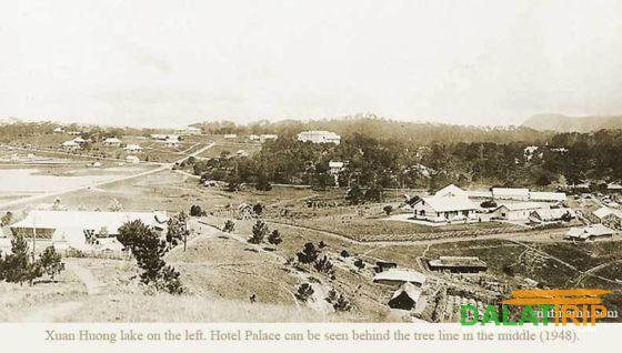 Dalat city in 1948