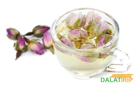 Далат Цветочный чай - Rose