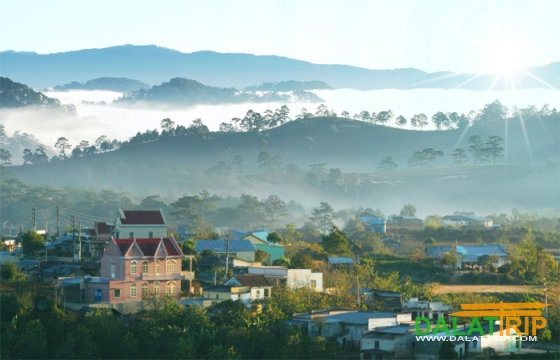 The development planning of Dalat is an international level city
