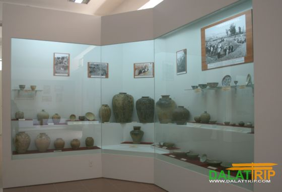 Ceramics at Lam Dong museum