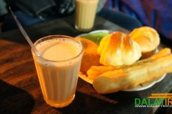 Hot Soy Milk in Dalat, you should try it