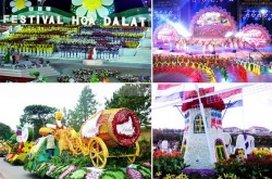 The 6th Dalat Flower Festival in 2015 – 2016