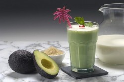 Avocado smoothies – a specialty of Dalat land