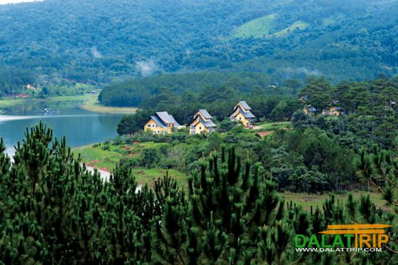 Resorts à Tuyen Lam lac
