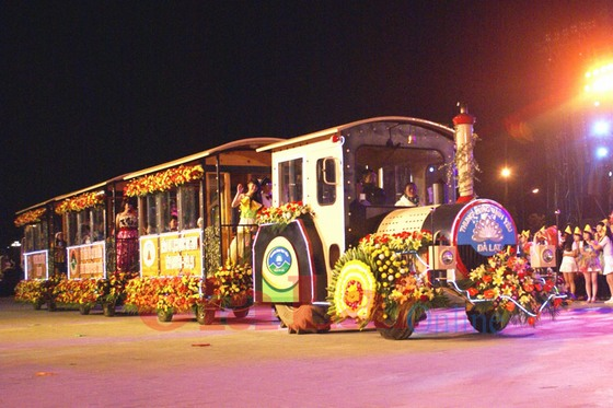 Da Lat Flower Festival in the past