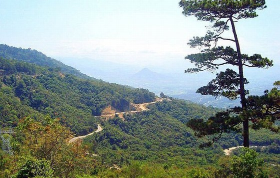 Ngoan Muc Pass - connecting Dalat and Phan Rang