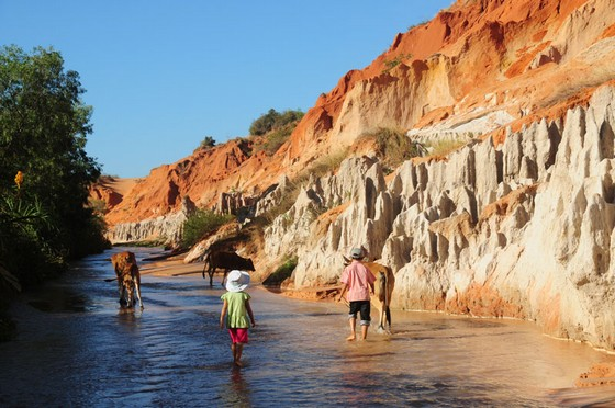 the Fairy Stream in Mui Ne