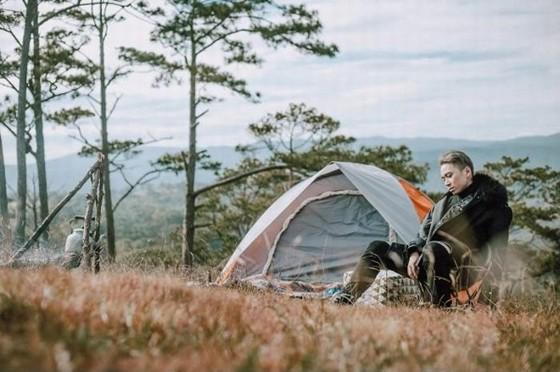 Ideal campsite in Dalat