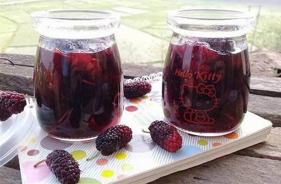 Dalat drinks - a sweet and pure mulberry juice