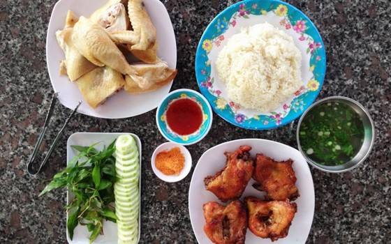 Phan Rang chicken rice