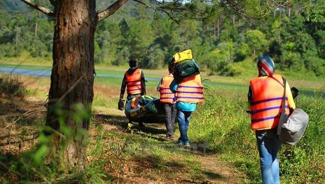 Kayaking tour Dalat