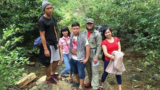 Samson peak trekking trail